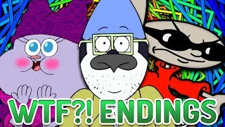 Top 10 WTF Cartoon Endings streaming