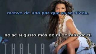 Thalia - Que Sera De Ti - Karaoke