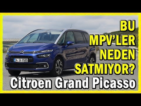 MPV'LER NEDEN SATMIYOR (Citroen Grand Picasso Dizel-Otomatik Test Videosu)