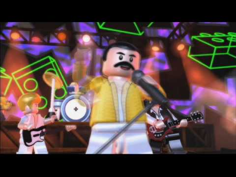 LEGO Rock Band Official Queen Videogame Trailer For PlayStation 3 PS3Xbox 360 Wii And Nintendo DS