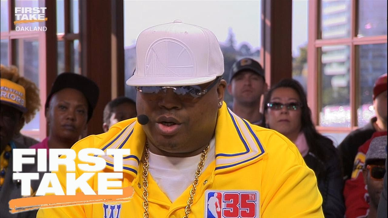 E 40 Says Warriors Can Become Greatest Team Of All Time First Take June 13 2017