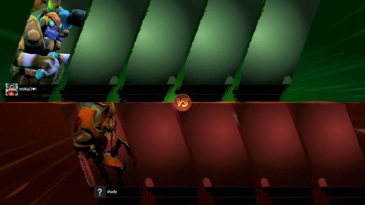 Tinker vs Nyx Assassin Dota2 MQ