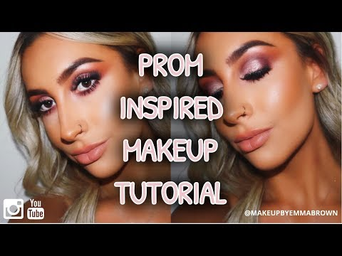 PROM INSPIRED MAKEUP TUTORIAL | Makeup By Emma Brown
