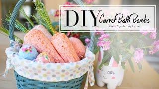 DIY LUSH Carrot Bath Bombs    ANN LE