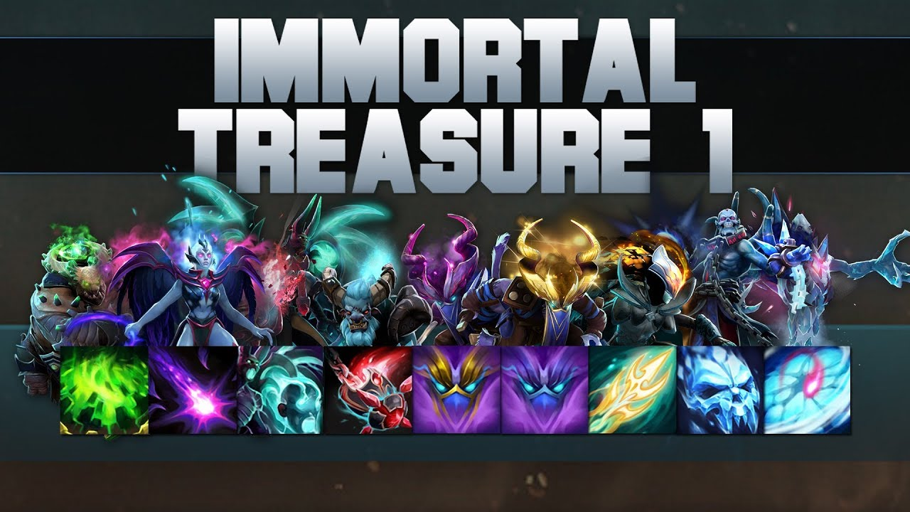 Dota 2 S Immortal Treasure 3 Launches: Immortal Treasure 1 Spotlight