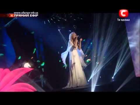 Aida Nikolaychuk X-FACTOR 3/ 2d show on air/