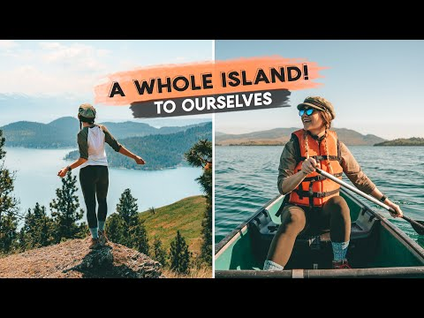 A WHOLE ISLAND To OURSELVES! | Whitefish, Montana