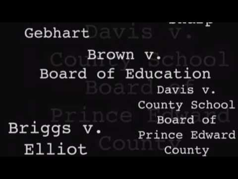 Brown V. Board Of Education for Ms. McConeghey