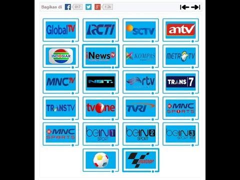 Cara Mudah Nonton TV Online LIVE Streaming TV Terlengkap Tercepat Tanpa Buffering