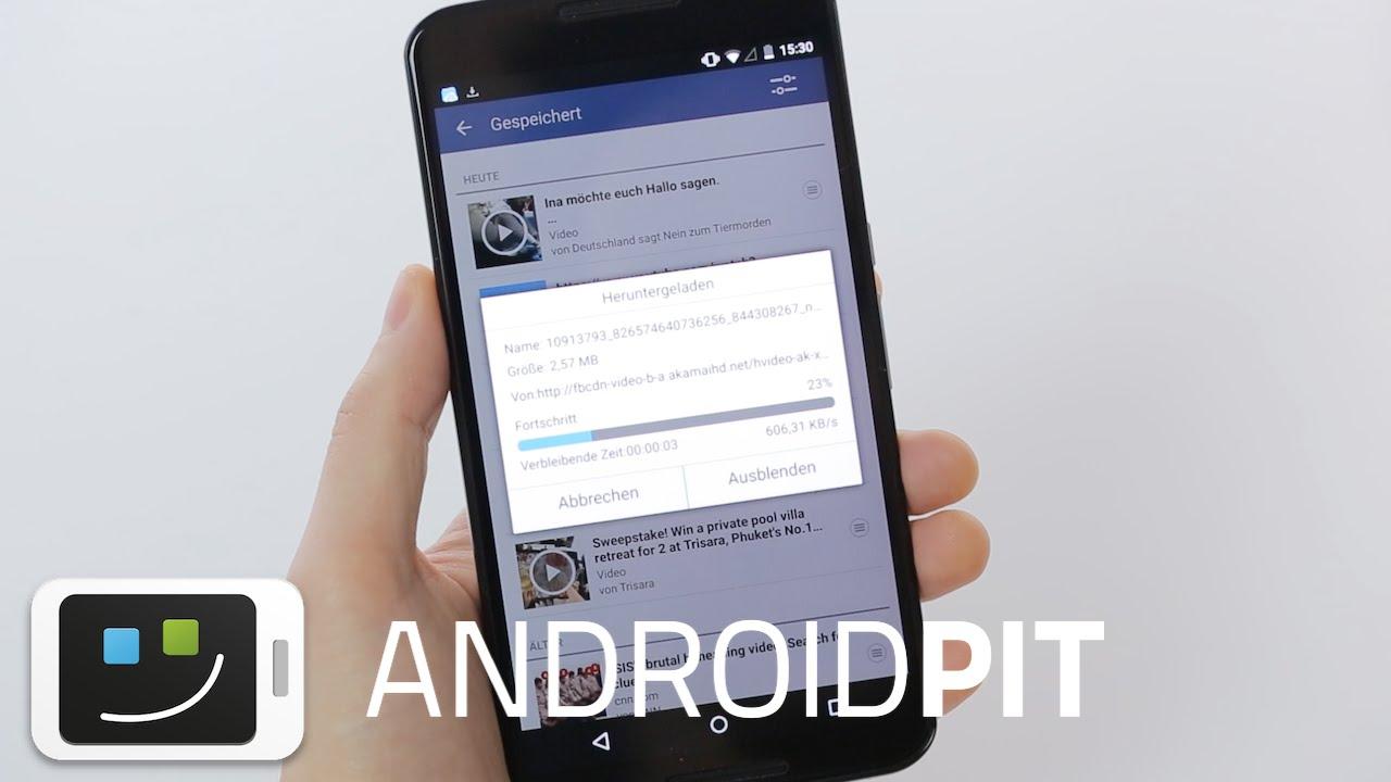 videos von facebook auf handy speichern