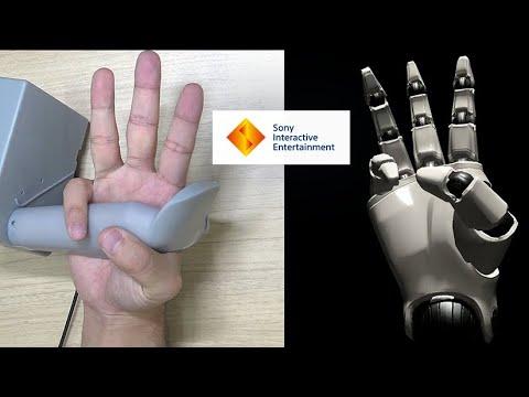 Sony prototype - Contrôleur avec suivi des doigts