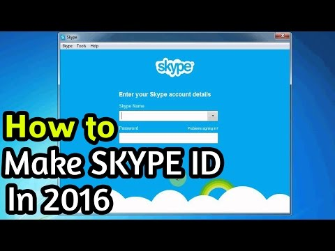 How to Make a Skype Account 2016 (Create Skype ID 2016) Step By Step