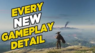 Ghost Of Tsushima Gameplay Breakdown - EVERYTHING We Learned