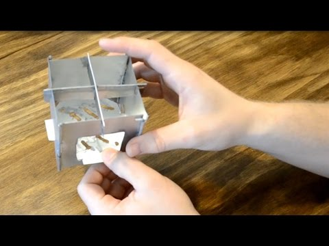 How to build the $1 pocket stove