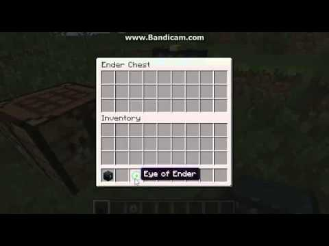 Ian's Minecraft Crafting Recipes: Ender Chest & Eye of ...