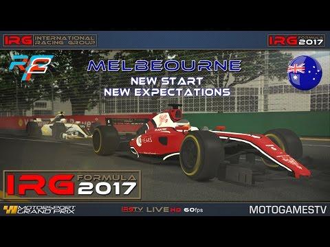 IRG Formula 2017 – Australia – R1 – rFactor 2