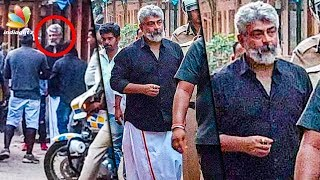 Thala Ajith Mobbed by Fans : Viswasam Shooting Spot | Hot Tamil Cinema News