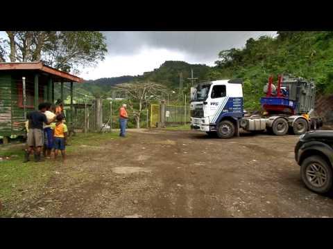 Fiji Transformer Delivery
