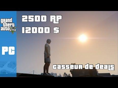 GTA 5 PC : Gagner de l'Argent et des RP Rapidement et Facilement en une mission !