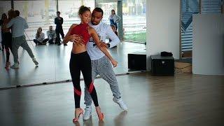 Dua Lipa - Be The One Dance | Carlos da Silva & Fernanda da Silva - 2017 Amsterdam ZNL Festival