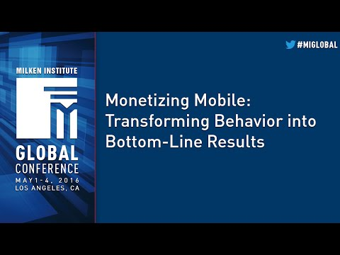 Monetizing Mobile: Transforming Behavior into Bottom-Line Results