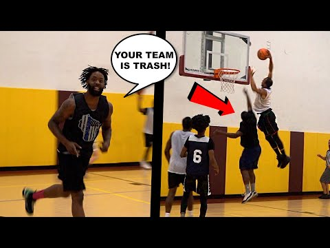 Trash Talking TEAM Gets EXPOSED! Men's League Basketball!