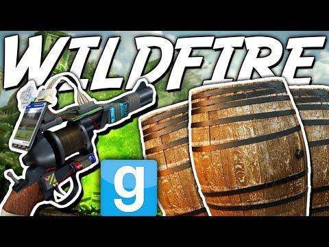 MASS DESTRUCTION WITH WILDFIRE?! | Gmod Sandbox Fun (GAME OF THRONES BOMBS)