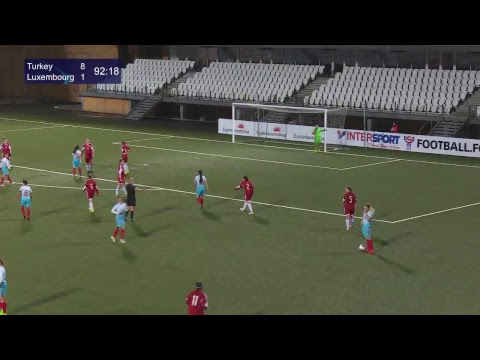 FSF Varpið: LIVE Turkey - Luxembourg (FIFA Women's World Cup, Preliminary Round)