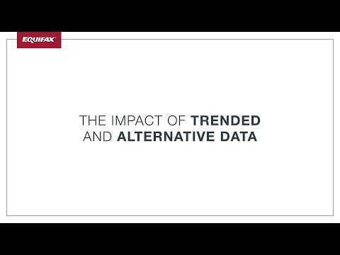 The Impact of Trended and Alternative Data on Consumers and Lenders