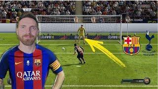 FIFA 18 KARNE CHALLENGE FC BARCELONA VS TOTENHAM *Messi ośmiesza bramkarza dziecinnym strzałem*