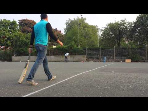 Afghans cricketing in Brussels