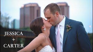 Jessica + Carter - Tredegar Iron Works Wedding in 4K!!!