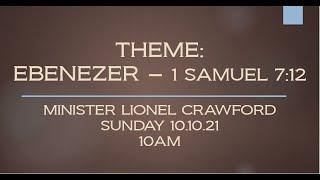 THEME: EBENEZER - 1 SAMUEL 7:12