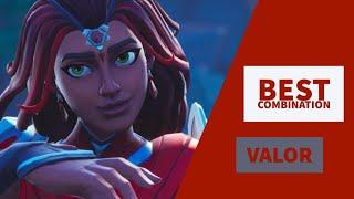 Best Combo | Valor | Fortnite Skin Review |