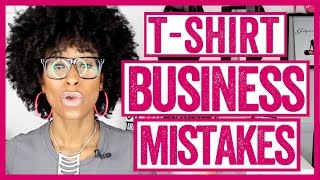 TOP 5 MISTAKES People Make When Starting A T-Shirt Business Online (Christian Entrepreneur Series)