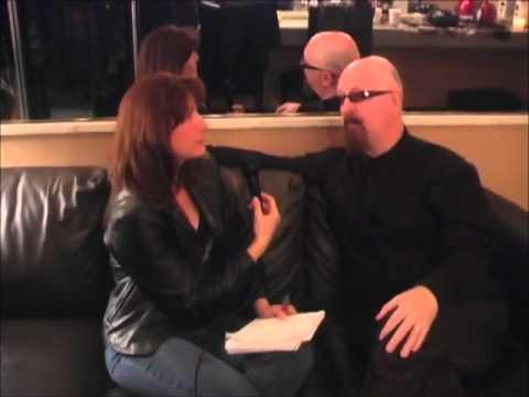 Frankie DiVita interviews Rob Halford, Part 1,  at The Grove in Anaheim, CA, 12-19-10