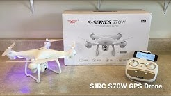 SJRC S70W GPS Drone Review