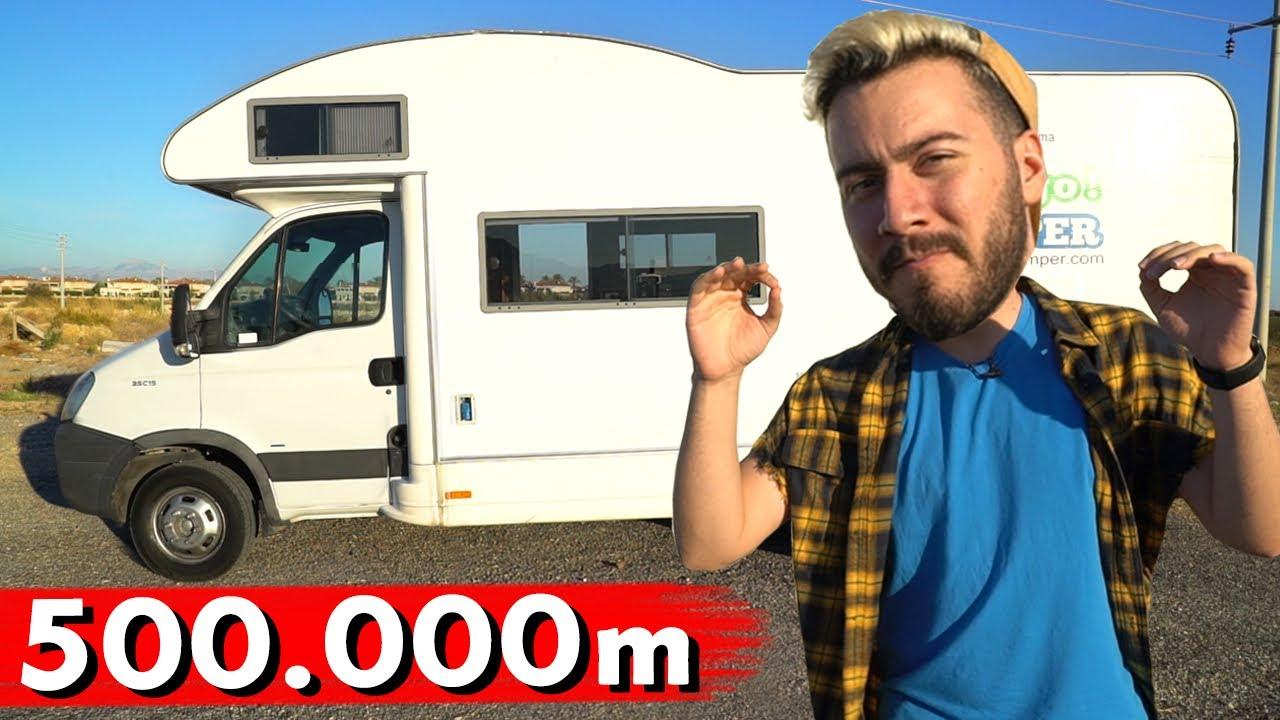500.000m KARAVAN İLE YOL GİTTİK