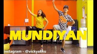 Baaghi 2 - Mundiyan tu Song dance choreography  | vicky and aakanksha
