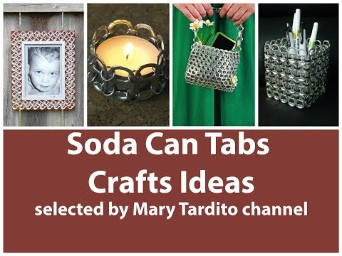 Soda Can Tabs Crafts Ideas