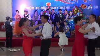 Vũ điệu Bachata - CLB Khiêu vũ Đồng kỵ - Từ sơn - Bắc ninh