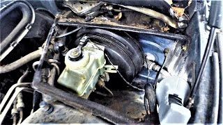 BMW E39 замена вакумника ( утопленник )