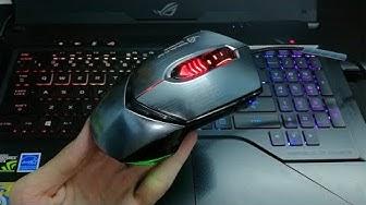 Trên tay chuột gaming Asus GX1000 Eagle Eye -  Hàng tặng không bán