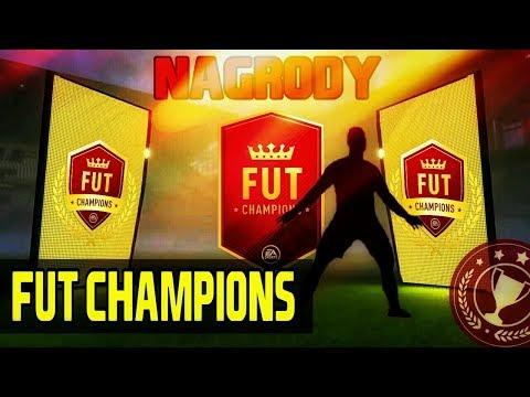 FIFA18 |NAGRODY ZA FUT CHAMPIONS|