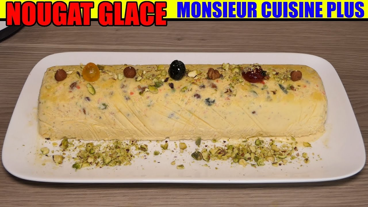 Nougat glac monsieur cuisine edition plus recette lidl silvercrest iced nougat gefrorenes - Monsieur cuisine plus vs thermomix ...