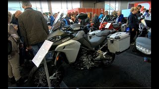DUCATI MULTISTRADA 1200 ENDURO OFFROAD ADVENTURE BIKE NEW MODEL COMPILATION WALKAROUND