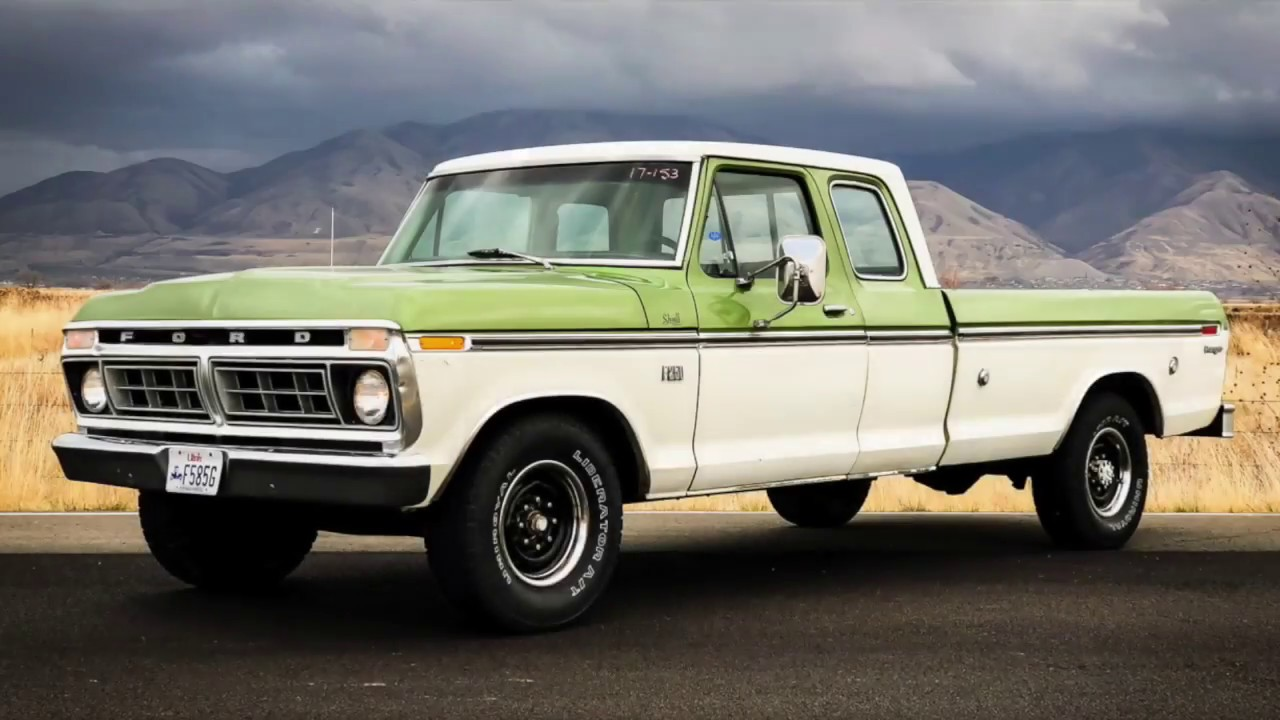 1976 Ford F250 Ranger Supercab