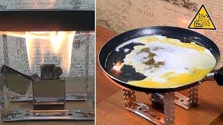 Тест зажигалок  Жарим яичницу на Китайской Zippo