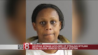 Woman charged with stealing $773K from UConn vendor system