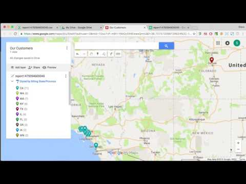 Create a Google My Map in Personal Gmail or Business G Suite
